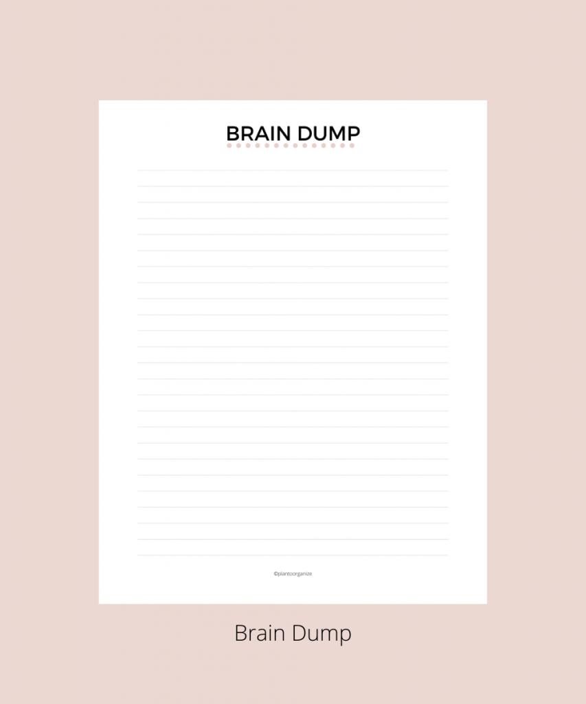 brain-dump