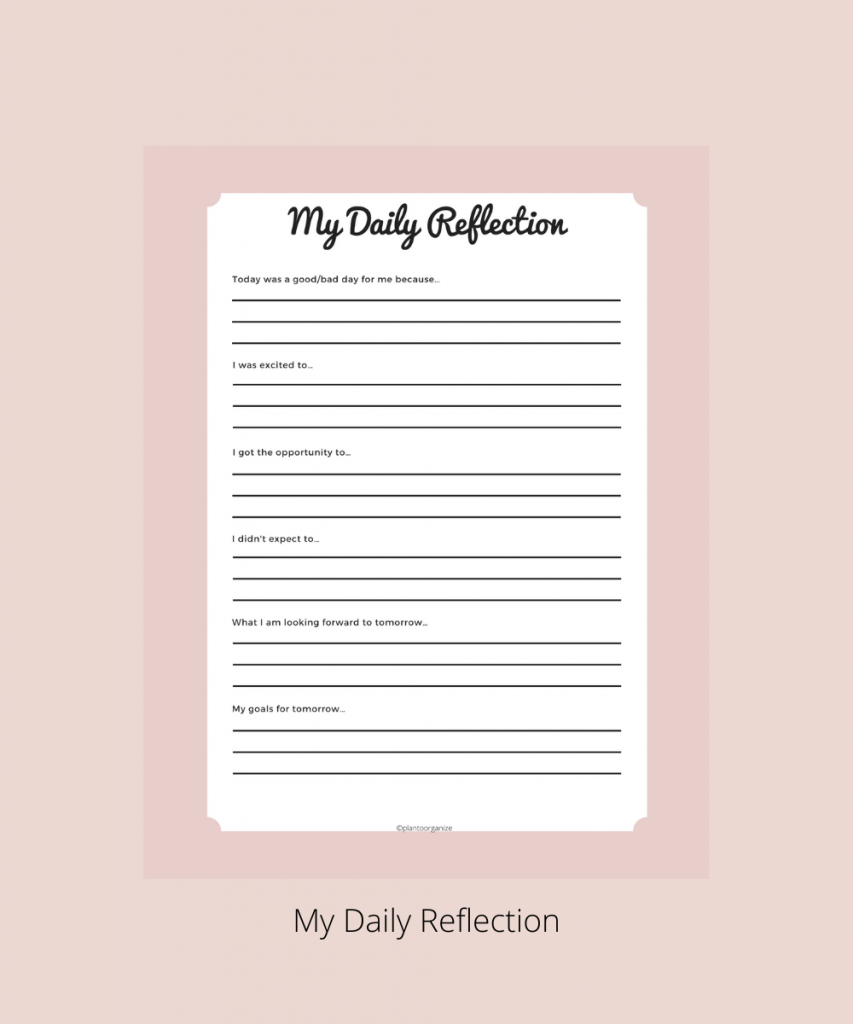 My-daily-reflection