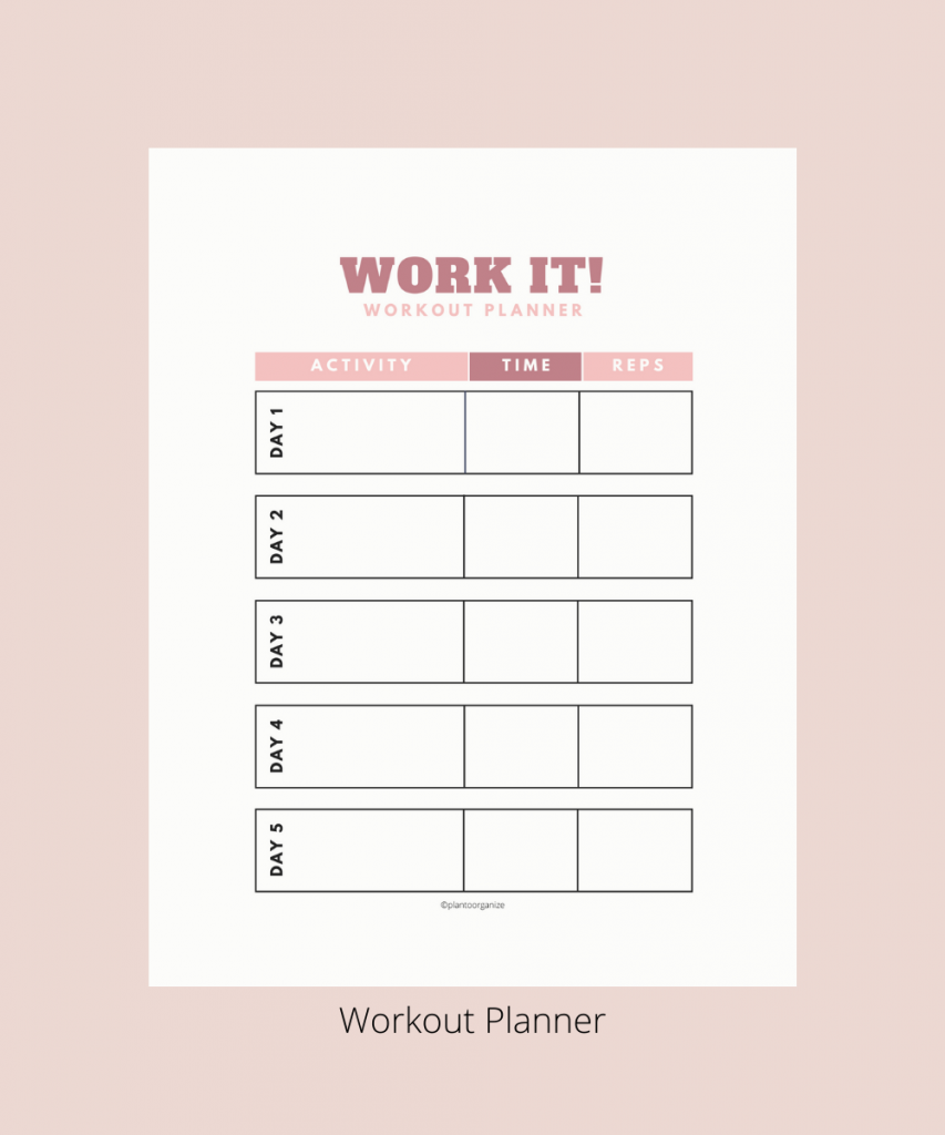 workout-planner
