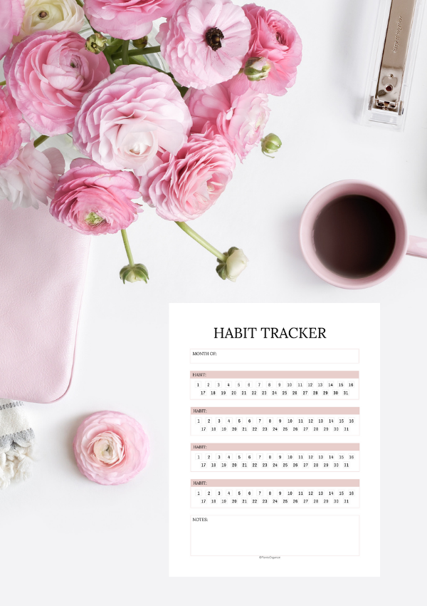 50+ Habit Tracker Ideas That Will Help You Hit Your Goals Faster (With a FREE Habit Tracker)