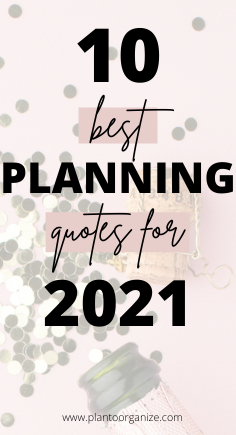 10-best-planning-quotes-for-2021