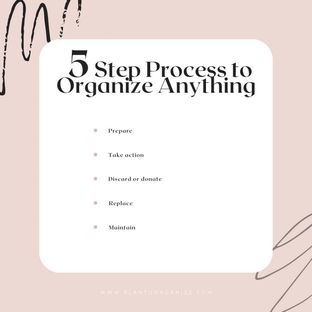 5-step-simple-process-to-declutter-and-organize-anything