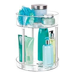 Clear-bathroom-Organizer
