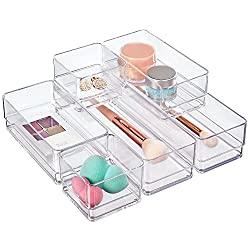 Clear-drawer-organizer