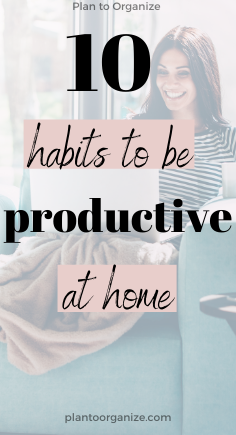10-habits-to-be-productive-at-home