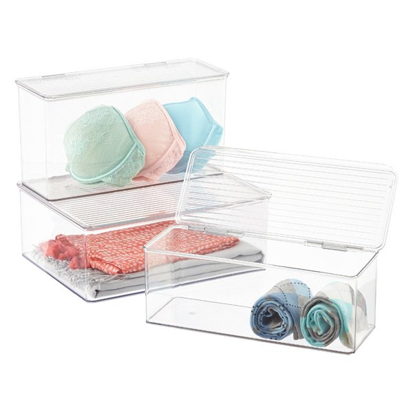 Clear-stackable-closet-organizers
