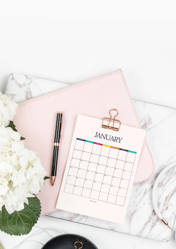 Free 2022 Calendar to Simplify Your Year – Get Organized